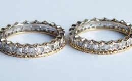 Pair of Eternity Diamond Wedding Bands